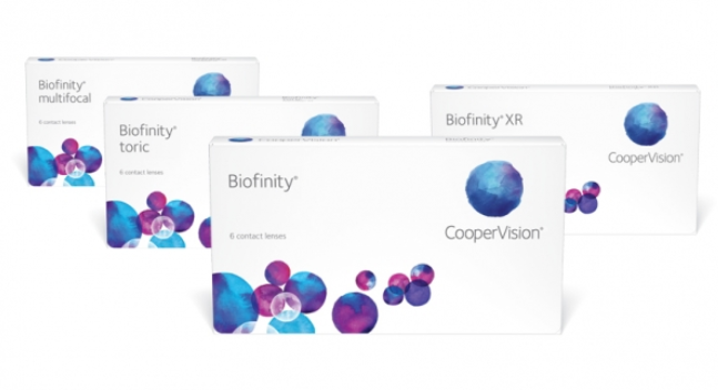 Biofinity Family contact lenses