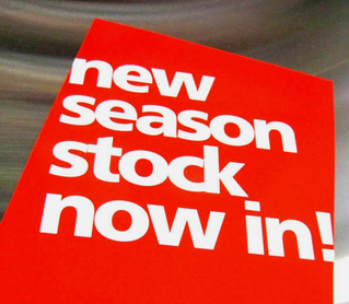 New Stock in Store