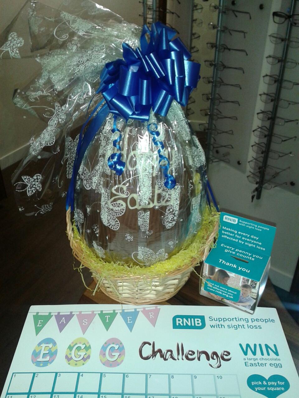 RNIB Easter Egg Raffle