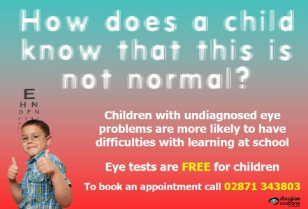 Mid-Term Holiday Eye Tests