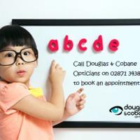D&C Back to School eye test