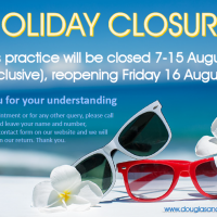 Summer Hol Closure 2019