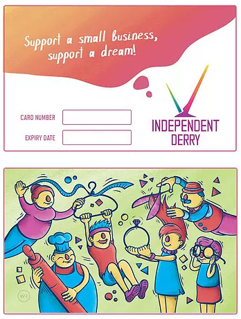 Independent Derry discount card – Supporting local business