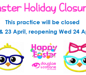Easter Holiday closure