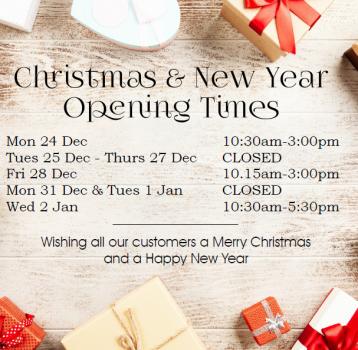 Christmas & New Year Holidays